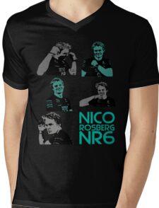 NR6- Nico Rosberg Mens V-Neck T-Shirt