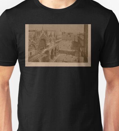 Lesser Saint Mark Square,Venice,Italy Unisex T-Shirt