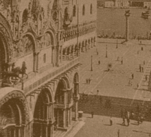 Lesser Saint Mark Square,Venice,Italy Sticker
