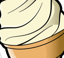 Vanilla Icecream Sticker
