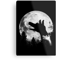 Bark At The Moon! Metal Print