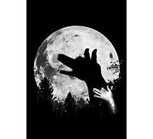Bark At The Moon! Photographic Print
