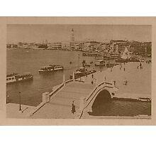 The pool of Saint Mark,Venice,Italy Photographic Print