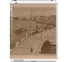 The pool of Saint Mark,Venice,Italy iPad Case/Skin