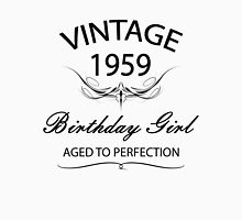 Vintage 1959 Birthday Girl Aged To Perfection Tank Top