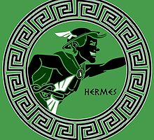 Hermes- The Messenger God by cockroachman