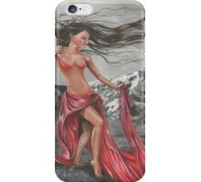 Lady of the Elements earth, wind, fire and water iPhone Case/Skin