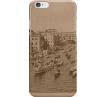 Regate on the Grand Canal,Venice,Italy iPhone Case/Skin