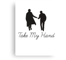 Take My Hand Canvas Print