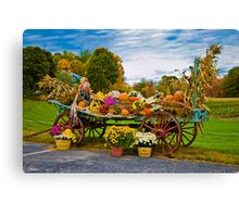 Celebration Of Fall Canvas Print