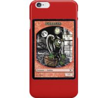 Magic Cards Goblin Igor Young Frankenstein Junior Token iPhone Case/Skin