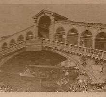 Rialto Bridge Vintage by Logan81