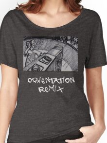 Orientation Remix Official By Basement Mastermind Women's Relaxed Fit T-Shirt