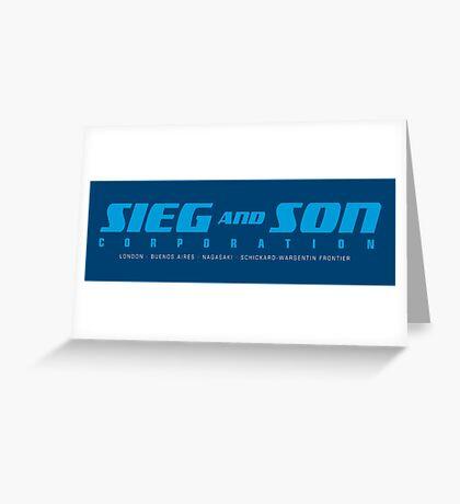 SIEG AND SON CORPORATION Greeting Card