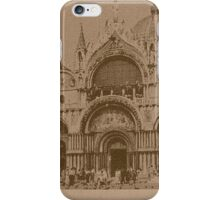 The Church of Saint Mark,Venice,Italy iPhone Case/Skin