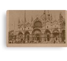 The Church of Saint Mark,Venice,Italy Canvas Print