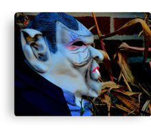 Nice to meet you or have a safe Halloween Canvas Print