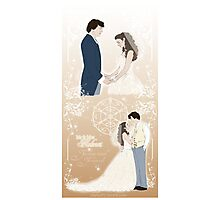 Sherlolly - Wedding day Photographic Print