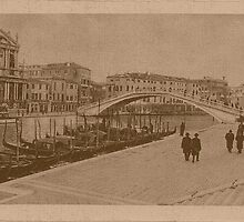The New Station Bridge,Venice,Italy by Logan81