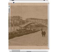The New Station Bridge,Venice,Italy iPad Case/Skin