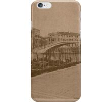 The New Station Bridge,Venice,Italy iPhone Case/Skin
