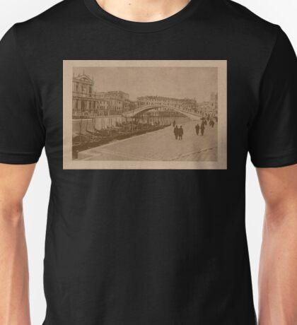 The New Station Bridge,Venice,Italy Unisex T-Shirt