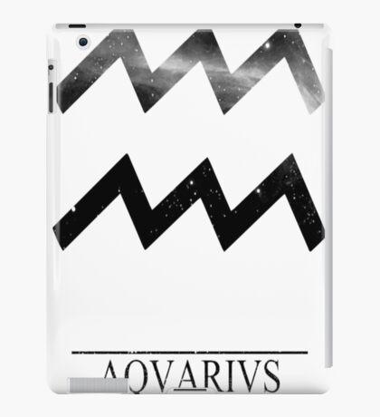 Zodiac - Aquarius T-Shirt iPad Case/Skin