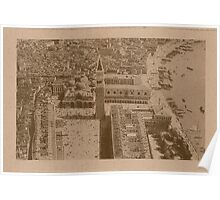 Aerial view of Saint Mark,Venice,Italy Poster