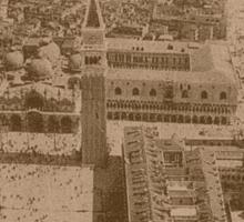 Aerial view of Saint Mark,Venice,Italy Sticker