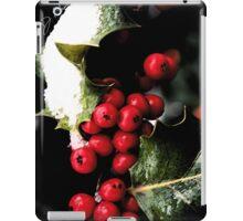 Holiday Holly iPad Case/Skin