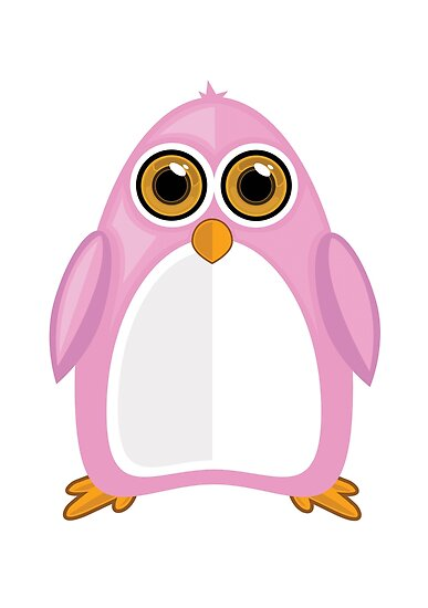 Pink Penguin by Adamzworld