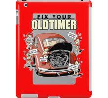 Fix your Oldtimer Car iPad Case/Skin
