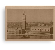 Venice' view from sea Canvas Print