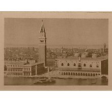 Venice' view from sea Photographic Print