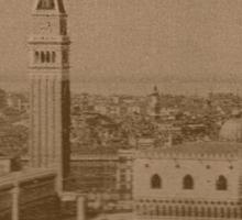 Venice' view from sea Sticker