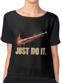Lucille - Just Do It Chiffon Top
