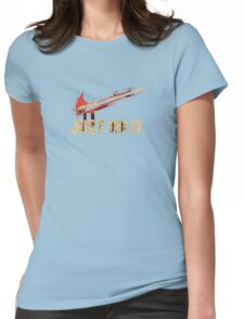 Lucille - Just Do It Womens Fitted T-Shirt