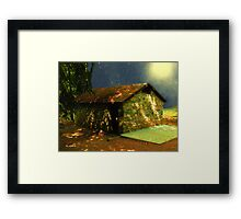 Mystery Cottage Framed Print