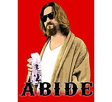 ABIDE Photographic Print
