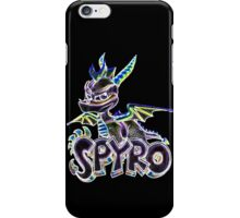 Spyro The Dragon Glow Design iPhone Case/Skin