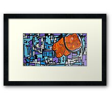 Astronaut Gummy Bear Framed Print