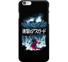 Attack on Asgard iPhone Case/Skin