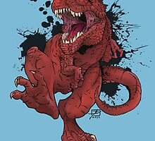T-Rex by Jeff Powers Illustration