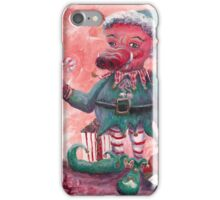 Santa's Littlest Elf Hog iPhone Case/Skin