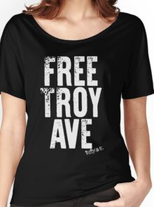troy ave Women's Relaxed Fit T-Shirt