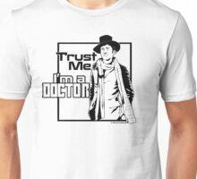 Trust Me, I'm a Doctor (black ver.) Unisex T-Shirt
