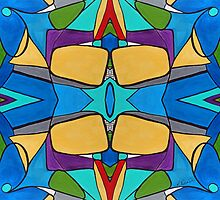 Merging Shapes One by Ruth Palmer