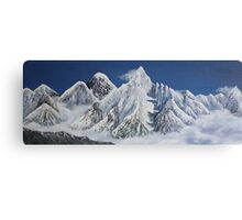 Everest and Nuptse from Kala Pattar Canvas Print