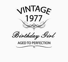 Vintage 1977 Birthday Girl Aged To Perfection Tank Top