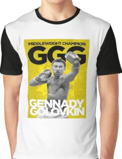 Gennady Golovkin - GGG Graphic T-Shirt